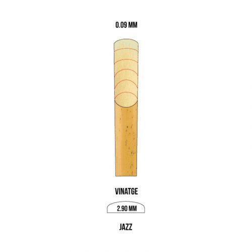 MARCA American Vintage B-klarinét nád